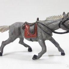 Figuras de Goma y PVC: CABALLO PARA VAQUERO . REALIZADO POR TEIXIDO . AÑOS 50 EN GOMA. Lote 171453305