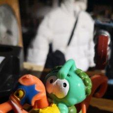 Figuras de Goma y PVC: FIGURA DE LOS SNORKELS TOOTER CON CABALLITO DE MAR.GUISVAL.1986. Lote 171453338
