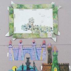 Figuras de Goma y PVC: CASTILLO WALT DISNEY ORIGINAL 1966 COCA COLA PREMIUM DUNKIN. Lote 171459110