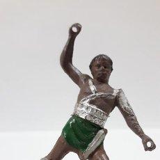 Figuras de Goma y PVC: GLADIADOR . REALIZADO POR GAMA . SERIE ROMA Y GLADIADORES . AÑOS 50 EN GOMA. Lote 171510382