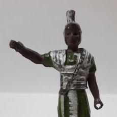 Figuras de Goma y PVC: ROMANO . REALIZADO POR GAMA . SERIE ROMA Y GLADIADORES . AÑOS 50 EN GOMA. Lote 171510489