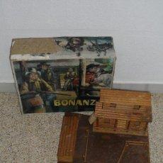 Figuras de Goma y PVC: RANCHO LA PONDEROSA BONANZA LOS 4 DEL OESTE REF. 132 COMANSI (AÑOS 60). S_N. Lote 171538478