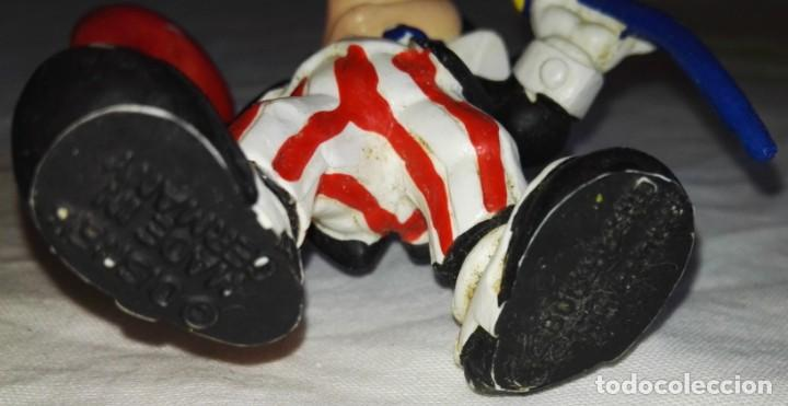 Figuras de Goma y PVC: Figura De Goma - Micky Mouse Americano, Tío Sam - Bullyland, Disney / Made In Germany - Foto 3 - 171540939