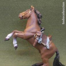 Figuras de Goma y PVC: FIGURA EN PVC CABALLO DE BATALLA . PAPO 2001. Lote 171711395