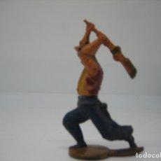 Figuras de Goma y PVC: FIGURA EN GOMA DE LA CASA GAMA. Lote 171834675