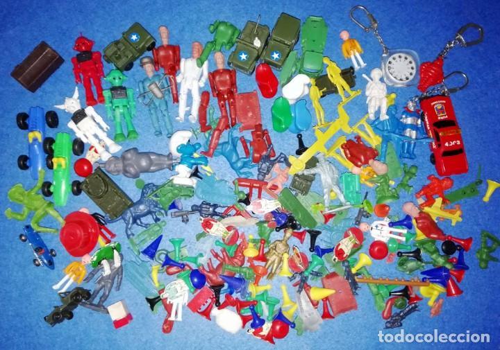 Figuras de Goma y PVC: LOTE DE FIGURITAS MONTAPLEX MONTAMAN COMANBOYS ETC... AÑOS 70 --- (VARIAS FOTOS) - Foto 5 - 171840233