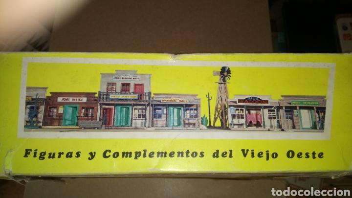 Figuras de Goma y PVC: CAJA VACÍA JECSARAMAS DEL OESTE. SHERIFF OFFICE. REF. 204. JECSAN. - Foto 3 - 171886087