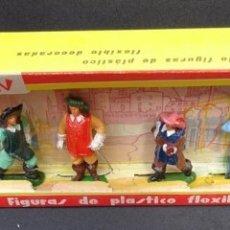 Figuras de Goma y PVC: JECSAN MOSQUETEROS CAJA 539D. Lote 163763110