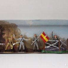 Figuras de Goma y PVC: SOLDADOS ESPAÑOLES - SOLDADOS DEL MUNDO . REALIZADOS POR COMANSI . AÑOS 70 . SIN CAJA. Lote 172012775