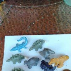Figuras de Goma y PVC: LOTE DE FIGURAS DESMONTABLES JURASSIK WORLD. Lote 172014833