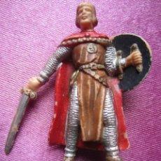 Figuras de Goma y PVC: SOLDADO MEDIEVAL CRUZADO ANTIGUA FIGURA REAMSA . Lote 172071279