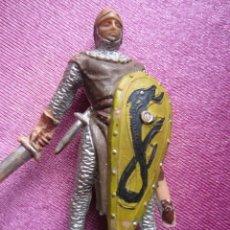 Figuras de Goma y PVC: SOLDADO MEDIEVAL CRUZADO ANTIGUA FIGURA REAMSA . Lote 172072059