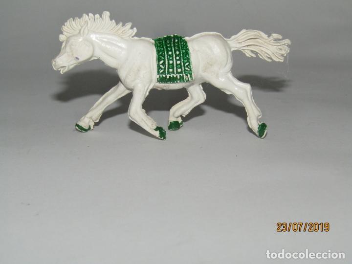 Figuras de Goma y PVC: Antiguo Caballo Indio de Goma - Jecsan Reamsa Pech - Foto 2 - 172150958