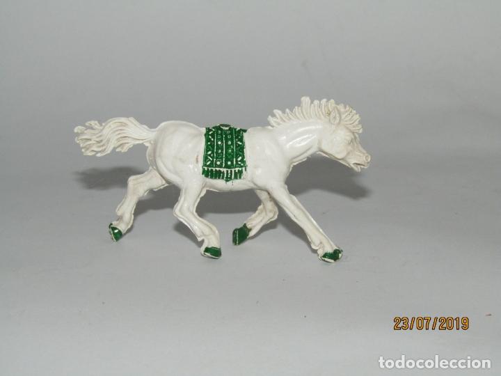ANTIGUO CABALLO INDIO DE GOMA - JECSAN REAMSA PECH (Juguetes - Figuras de Goma y Pvc - Otras)