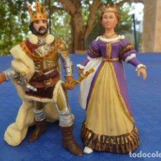 Figuras de Goma y PVC: PAREJA REYES MEDIEVAL. PAPO. Lote 172185410