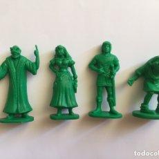 Figuras de Goma y PVC: LOTE JOROBADO NOTRE DAME VERDE. Lote 172228452