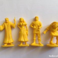 Figuras de Goma y PVC: LOTE JOROBADO NOTRE DAME AMARILLO. Lote 172228479
