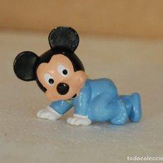 Figuras de Goma y PVC: FIGURA PVC MICKEY MOUSE MINNIE BEBE BULLY BULLYLAND WALT DISNEY 1985 . Lote 172251973