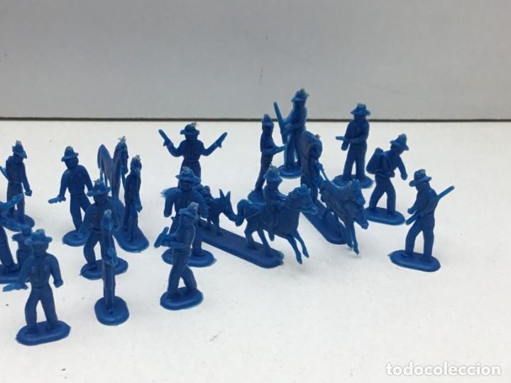 Figuras de Goma y PVC: LOTE FIGURAS DE GOMA - FOTOKEKI - MONTAPLEX - DILIGENCIA WELLSS-FARGO - AÑOS 70 - Foto 4 - 172269649