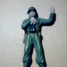 Figuras de Goma y PVC: FIGURA PECH HERMANOS SOLDADO AMERICANO MARINE ARTILLERÍA. Lote 172004665