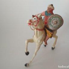 Figuras de Goma y PVC: FIGURA MEDIEVAL ÁRABE GOMA SERIE GRANDE PECH HERMANOS . Lote 172335467