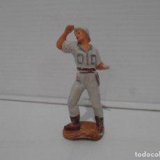 Figuras de Goma y PVC: FIGURA EXPLORADOR BLANCO DE GAMA, MINAS DEL REY SALOMON. Lote 172364754