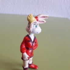 Figuras de Goma y PVC: FIGURA DE LOLA BULLYLAND BULLY NOVIA DE BUGS BUNNY WARNER BROS. Lote 172367522