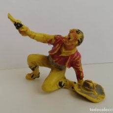 Figuras de Goma y PVC: VAQUERO PECH. PLÁSTICO, AÑOS 60.. Lote 172393224