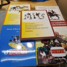 Figuras de Goma y PVC: LOTE LIBROS DE FIGURAS ANTIGUAS 5 LIBROS COMANSI,REAMSA,JECSAN,ETC. Lote 172403897