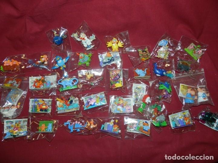 Figuras Kinder: (M) Lote de 35 Figuras Kinder Street Life In Mainhattan, Flink, Flott, Fleibig, Wilder Westen - Foto 3 - 172479205