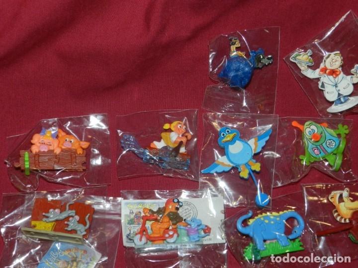 Figuras Kinder: (M) Lote de 35 Figuras Kinder Street Life In Mainhattan, Flink, Flott, Fleibig, Wilder Westen - Foto 4 - 172479205