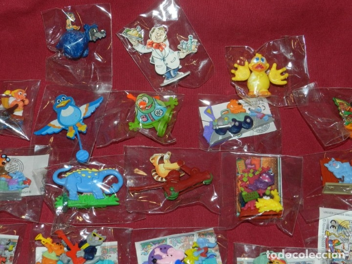 Figuras Kinder: (M) Lote de 35 Figuras Kinder Street Life In Mainhattan, Flink, Flott, Fleibig, Wilder Westen - Foto 8 - 172479205