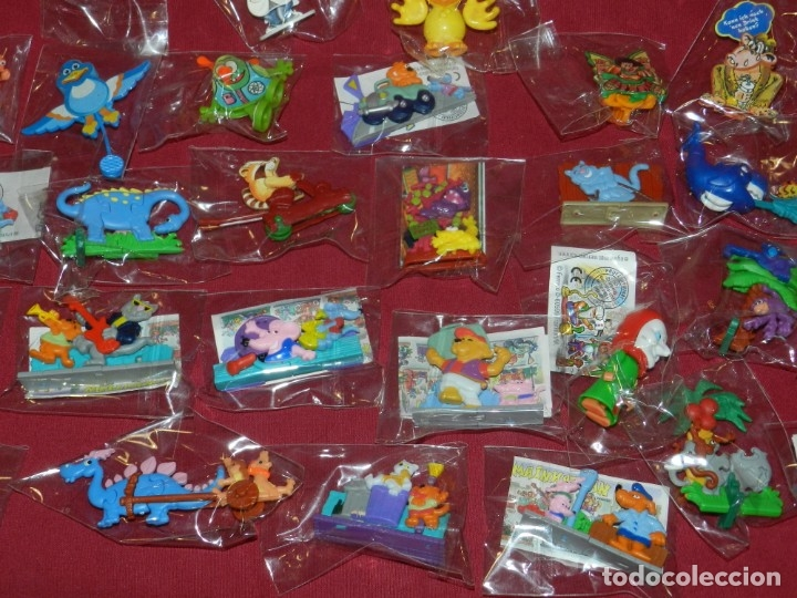 Figuras Kinder: (M) Lote de 35 Figuras Kinder Street Life In Mainhattan, Flink, Flott, Fleibig, Wilder Westen - Foto 9 - 172479205