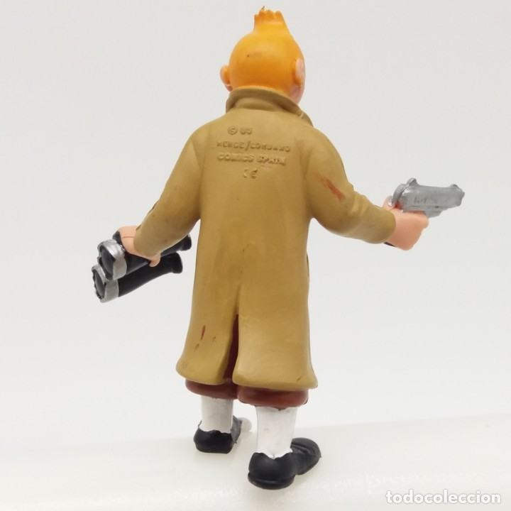 Figuras de Goma y PVC: Figura de Tintin. COMICS SPAIN 1985 - Foto 2 - 172490585