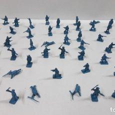 Figuras de Borracha e PVC: LOTE DE SOLDADITOS MONTAPLEX . AÑOS 70 / 80. Lote 172639585