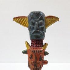 Figuras de Goma y PVC: TOTEM INDIO . FIGURA REAMSA Nº 30 . AÑOS 50 EN GOMA. Lote 172643935