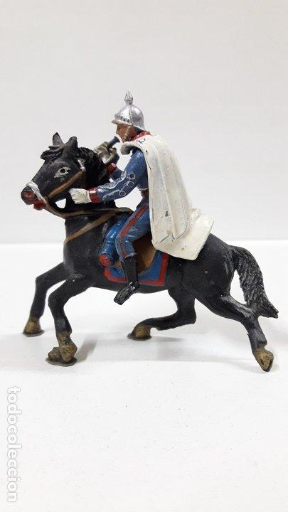 Figuras de Goma y PVC: ESCOLTA DEL GENERALISIMO CON TROMPETA . REALIZADO POR TEIXIDO . AÑOS 50 EN GOMA - Foto 6 - 172644630