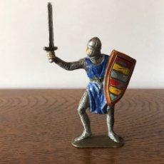 Figuras de Goma y PVC: JECSAN ,LAS CRUZADAS. SERIE MEDIEVALES. AÑOS 60 Y 70. . Lote 172722194