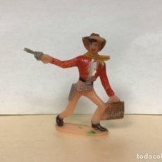 Figuras de Goma y PVC: FIGURA VAQUERO LADRON COMANSI OESTE WESTERN NO PECH REAMSA JECSAN LAFREDO. Lote 172730863