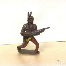 Figuras de Goma y PVC: FIGURA JEFE INDIO COMANSI OESTE WESTERN NO PECH LAFREDO REAMSA JECSAN. Lote 172730878