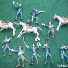 Figuras de Goma y PVC: LOTE CMS CHINA SOLDADOS UNION ESTADOS UNIDOS GOMA. Lote 172746090