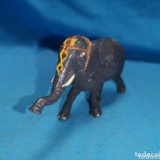 Figuras de Goma y PVC: ELEFANTE DE CIRCO JECSAN EN GOMA AÑOS 60. Lote 172849220