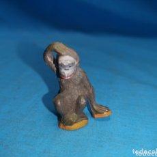 Figuras de Goma y PVC: MONO CHIMPANCE DE CIRCO JECSAN EN GOMA AÑOS 60. Lote 172853704