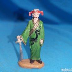 Figuras de Goma y PVC: CHINO ESPADACHÍN FAKIR DE CIRCO JECSAN EN GOMA AÑOS 60. Lote 172854403