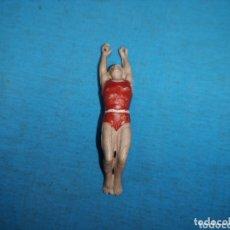 Figuras de Goma y PVC: TRAPECISTA DE CIRCO JECSAN DE GOMA AÑOS 60. Lote 172858598