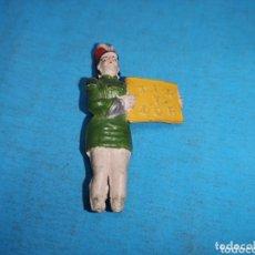 Figuras de Goma y PVC: AZAFATA PRESENTADORA DE CIRCO JECSAN, FALTAN LOS PIES, TAL Y COMO SE VE EN LAS FOTOS , AÑOS 60. Lote 172858757