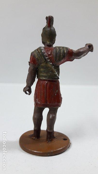 Figuras de Goma y PVC: ROMANO . REALIZADO POR GAMA . SERIE ROMA Y GLADIADORES . AÑOS 50 EN GOMA - Foto 2 - 172875744