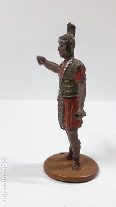 Figuras de Goma y PVC: ROMANO . REALIZADO POR GAMA . SERIE ROMA Y GLADIADORES . AÑOS 50 EN GOMA - Foto 3 - 172875744