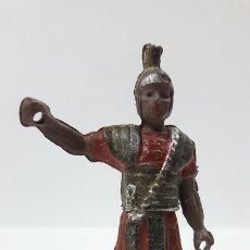 Figuras de Goma y PVC: ROMANO . REALIZADO POR GAMA . SERIE ROMA Y GLADIADORES . AÑOS 50 EN GOMA. Lote 172875744