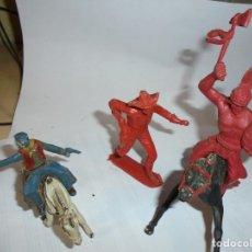 Figuras de Goma y PVC: MAGNIFICAS 5 FIGURAS ANTIGUAS. Lote 172968240
